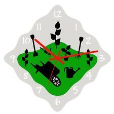 Euphyllia-Tempus Gardeners Theme Wall Clock 32cm (e9609gard)