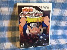 Naruto: Clash of Ninja Revolution (Nintendo Wii, 2007)