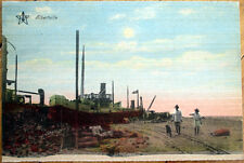 1915 Albertville, Gauteng, South Africa Postcard: Shipyard/Railroad