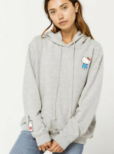 Levi's Women's Hello Kitty  Hoodie Pullover Grey Rare/ Sold Out SZ S     New!!!