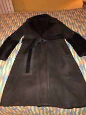 Gucci Sheepskin Brown Long Coat - Size 12