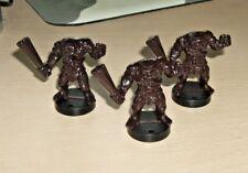 Dark World lot of 3 Ogres ogre D&D miniature figure
