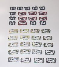 Chevelle Cutlass GS ElCamino 1968 to 1972 Front and Rear Reveal Molding Clips