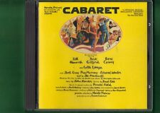 HAROLD PRINCE PRESENT CABARET OST COLONNA SONORA CD APERTO