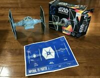 Star Wars Tie Fighter Power of the Force Vintage Space Ship Kenner Insert 1995