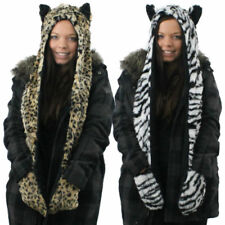 Unbranded Animal Aviator/Trapper Hats for Women