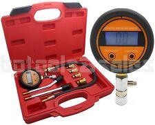 Digital Petrol Gas Auto Engine Cylinder Compression Tester Gauge Motor Auto Kit
