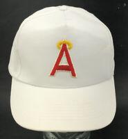 VTG California Anaheim Angels MLB Logo 7 Snapback Baseball Cap Hat Retro S