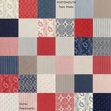 "PORTSMOUTH Charm Pack from MODA - (42) 5"" factory-cut squares - 14860PP"