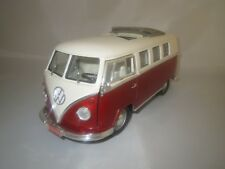 "Road Signature  Volkswagen  Microbus  ""rot/creme""  1:18 ohne Verpackung !"