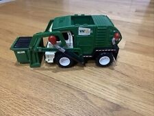 2007 Mattel Matchbox Waste Management WM GarbageTruck Toy - 10""