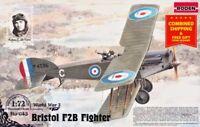 Roden 043 - 1/72 - Kit Bristol F2B - Foghter-biplane 1916 plastic model kit