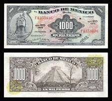 Banco de Mexico 1000 Pesos Cuauhtemoc 2-8-1974, Series BYD. P-52s1. XF+