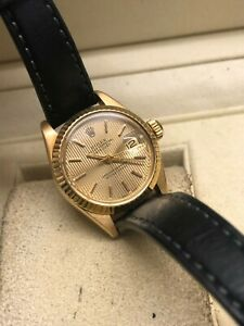 Rolex Datejust 18ct Gold Automatic Watch