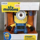 BNIB Brand New Bulb Botz Minions Stuart Alarm Clock - Ideal Gift