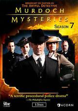 Murdoch Mysteries: Season 7 (DVD, 2014, 5-Disc Set) Season seven.