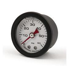 Marshall Öldruckmanometer, Öldruckanzeige black-white 60PSI - Harley Davidson