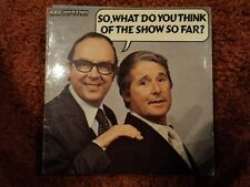 MORECAMBE AND WISE so what do you think of the show so far REB 210 LP PS EX/VG