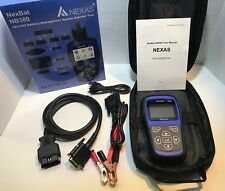 NEXAS Battery Load Tester Charging System Analyzer & BMS Reset With Database