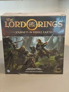 The Lord of the Rings: Journeys in Middle-Earth Board Game - Sealed & New in Box