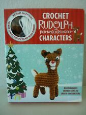 Rudolph The Red-Nosed Reindeer Crochet Kit - Create Six Characters Bnib