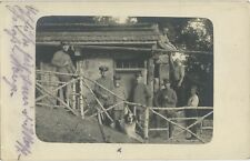 Officers Quarters German Soldiers 1915 Photograph (220#)