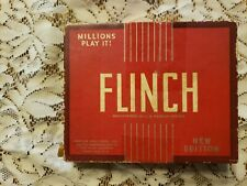VINTAGE, COLLECTIBLE  1938 FLINCH CARD GAME, PLEASE SEE ALL PHOTO'S
