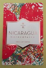 STARBUCKS 2016 - Series Reserve Tasting Card NICARAGUA MARACATURRA - NEW (ID#40)