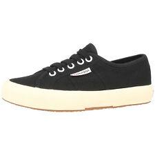 Superga 2750 cotu Classic zapatos Black s000010-999 Sport ocio cortos