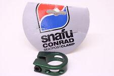 New Snafu Conrad Green Seat Post Clamp 28.6mm BMX Bike