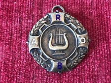 Royal Antediluvian Order of Buffaloes RAOB Sterling Silver Medal W Thewlis 1957
