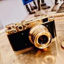 Leica Gold Ernst LEITZ WETZLAR with Carl Zeiss lens