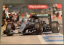 Nico Rosberg Signed Photo F1 Formula One Mercedes