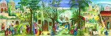 Richard Sellmer Verlag German Paper Advent Calendar Panoramic Religious Motif