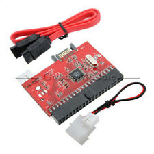 New 2in1 IDE to SATA / SATA to IDE Adapter Converter Supports Serial ATA 100/133
