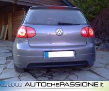 Sotto paraurti posteriore Volkswagen Golf 5 nuovo ABS senza fori scarico GTi 30