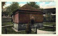 Block House Pittsburgh Point District Fort Pitt Pennsylvania PA 1920's Postcard