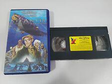 ATLANTIS EL IMPERIO PERDIDO VHS CINTA TAPE LOS CLASICOS DE WALT DISNEY ESPAÑA