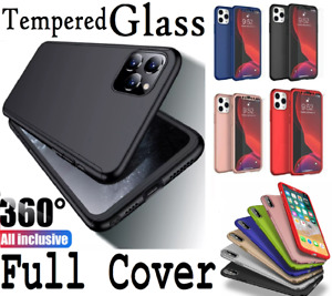 Full Body Hybrid Shockproof 360 Case Cover For iPhone 12 11 Pro Max SE 7 8 XR XS