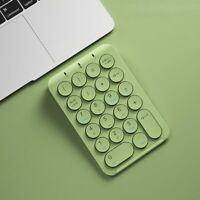 Rechargeable Bluetooth Wireless Numeric Keyboards Portable Slim Mini Number Pad