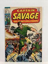 Captain Savage And His Battlefield Raiders #12