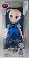 New Disney Store Frozen Elsa W/Olaf Animators Collection Toy Toddler Doll Figure