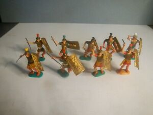 Timpo Romans collection x 9 includes rare Roman variant