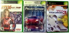3 Xbox Games - Project Gotham Racing, MX World Tour, TOCA Race Driver 3