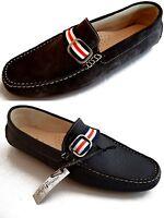 Scarpe Mocassini Uomo Men Shoes Made in Italy Uomini Italiani Leather Loafers Hi