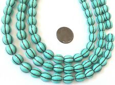 10mm Natural Turquoise Melon Gemstone beads Gemstone Beads-Jewelry Supplies