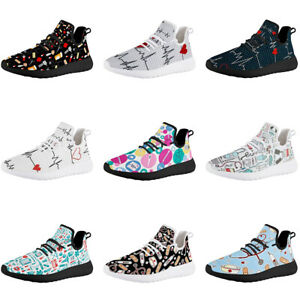 Nurse Shoes Soft Lightweight Medical Women Walking Sneakers Daily Work Outdoor