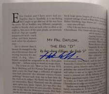 SIGNED Gene Wolf, Harlan Ellison, Ellen Datlow, Barry Malzberg - Readercon 11