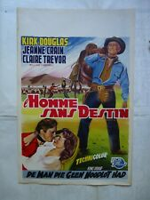 WESTERN//KIRK DOUGLAS/THE MAN WITHOUT A STAR/WF/affiche belge