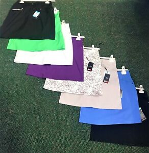 WOMENS GOLF SKORT, 8 Colours-Golf, Tennis & Sports Uk10 (waist 31½) last ones